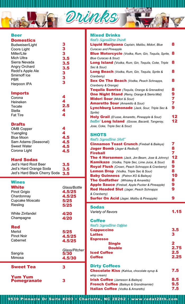 uni menu 2